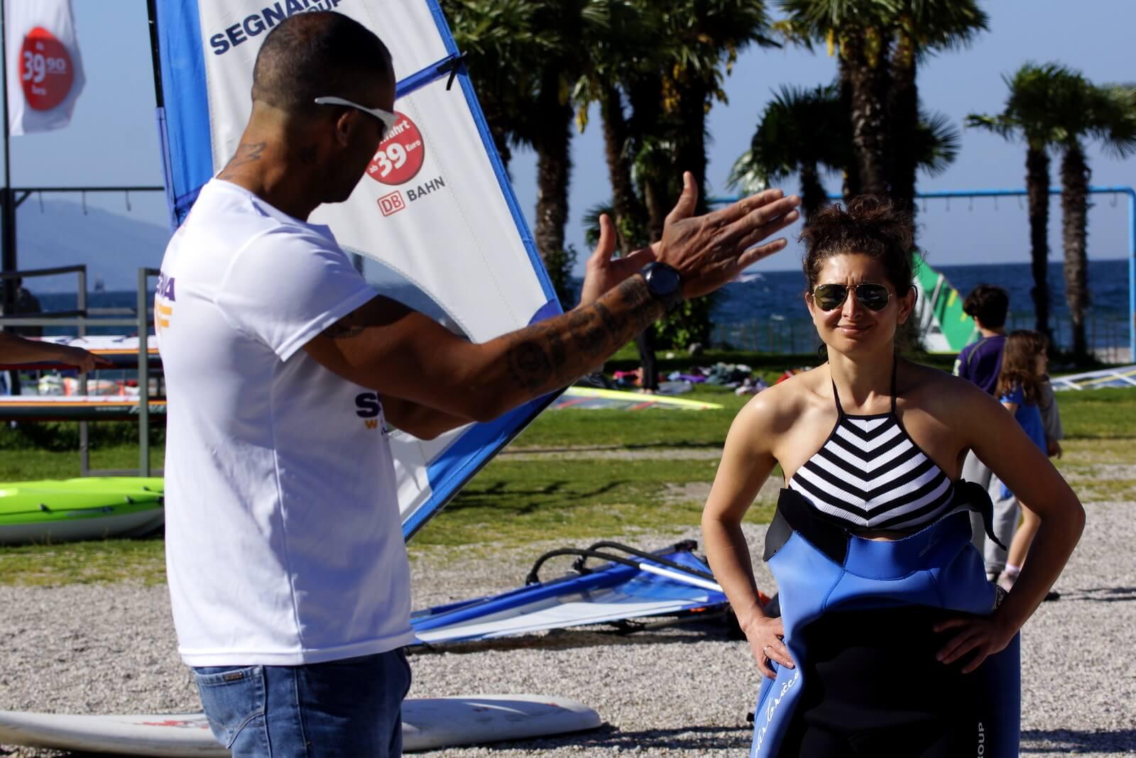 3 ore di lezione privata di Windsurf dal principiante al freestyle