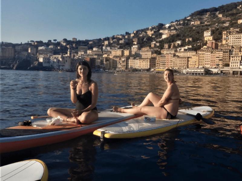 Aperitivo in SUP e Canoa a Portofino