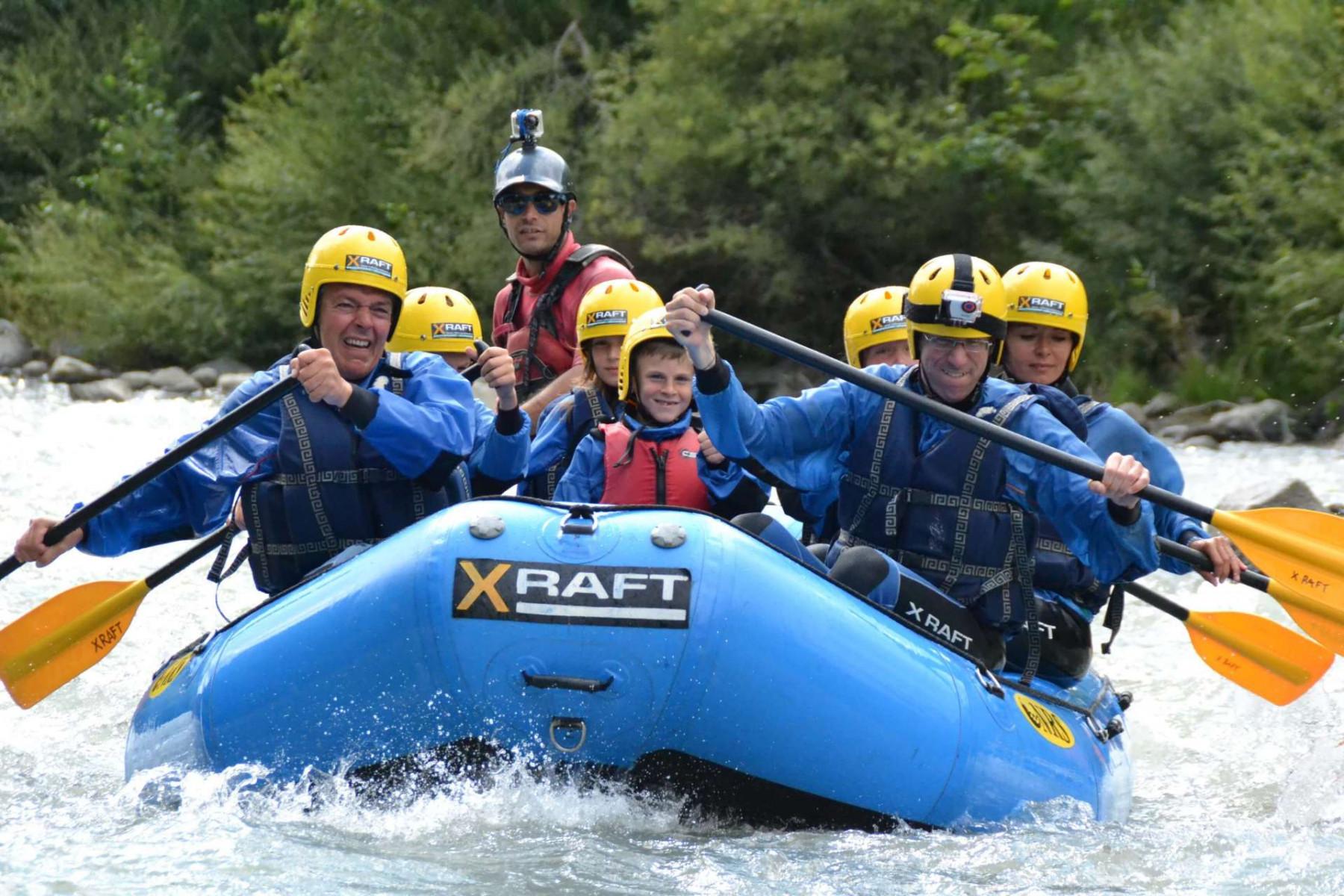 Battesimo del Rafting - discesa Bio Bio sul fiume Noce in Trentino