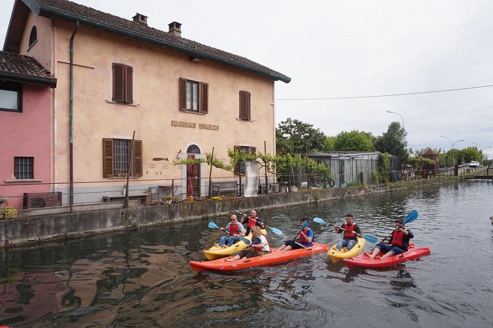 Battesimo della pagaia a due passi da Milano