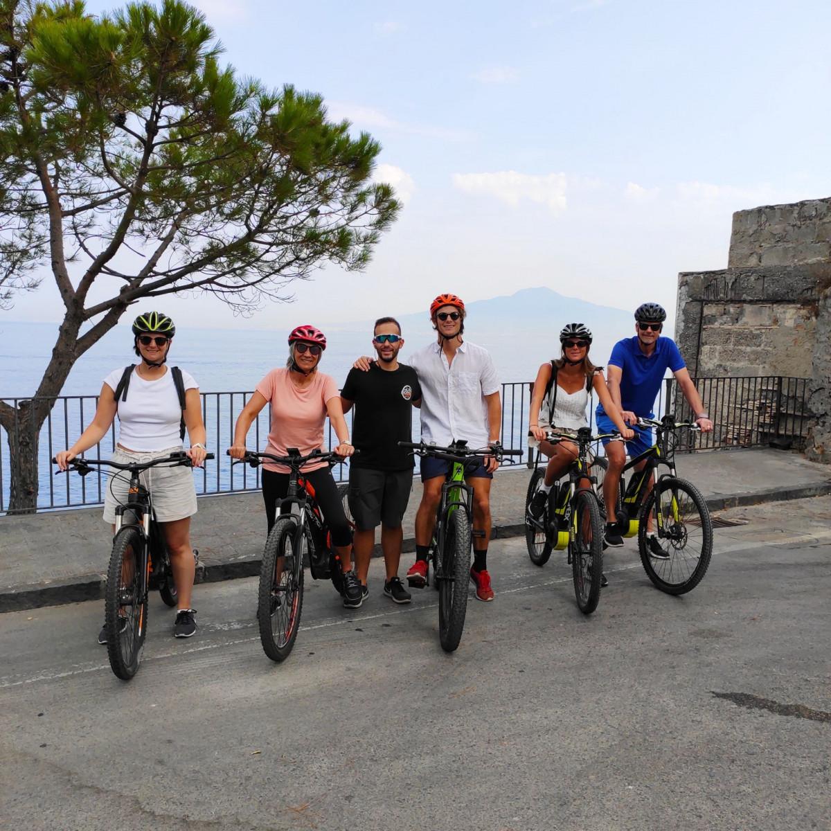 Bike tour enogastronomico nella Penisola Sorrentina
