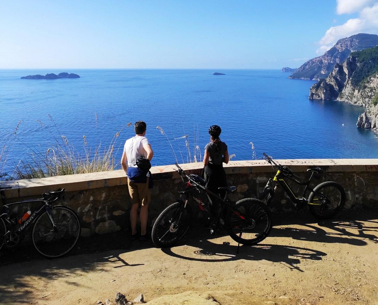 Bike tour panoramico da Sorrento a Positano