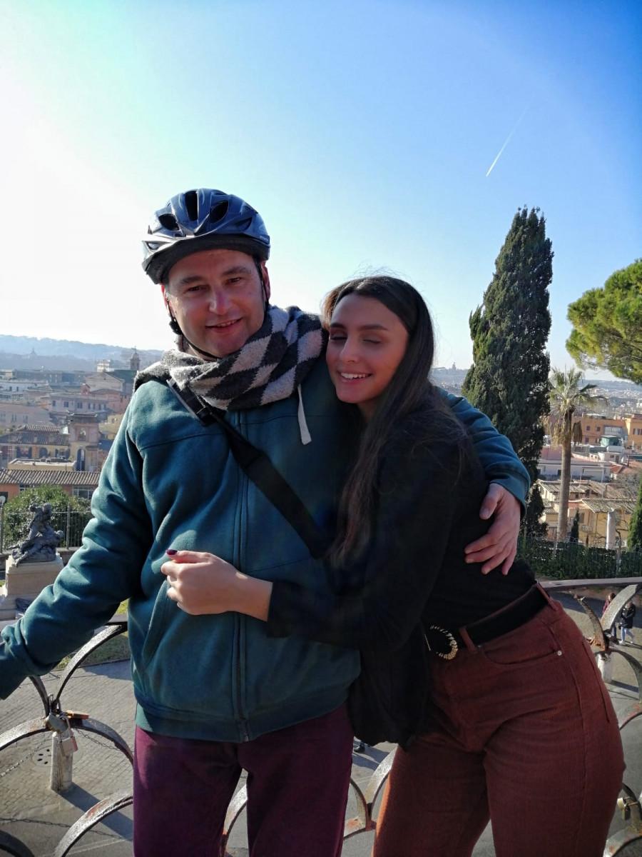Caccia al tesoro in bicicletta per le strade di Roma