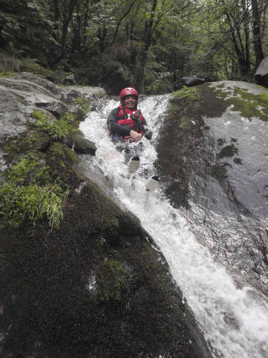 Canyoning Rio Claro Adventure in Val Chisone (TO)