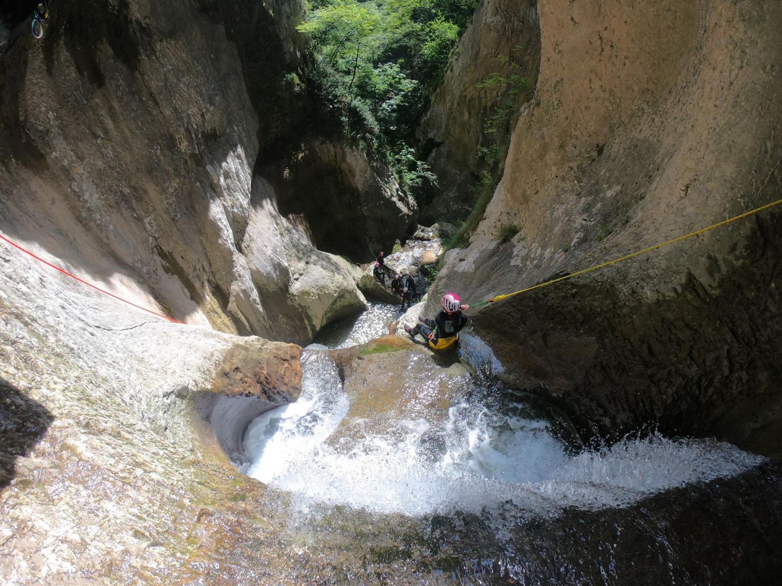 Canyoning Adrenaline al Vajo dell'Orsa a Brentino