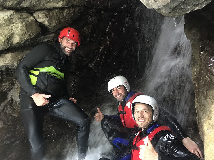 Canyoning Adventure a Bagni di Lucca