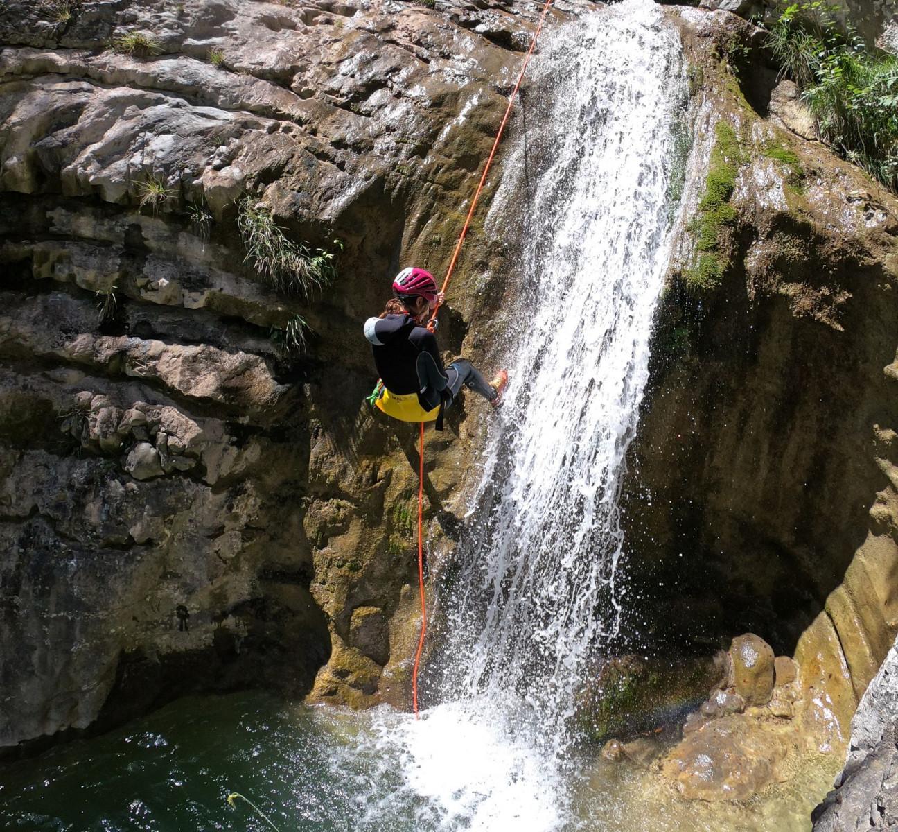 Canyoning Adventure nel torrente Vione sul Lago di Garda