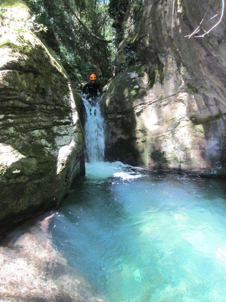 Canyoning Experience nella valle di Bagnone in Lunigiana