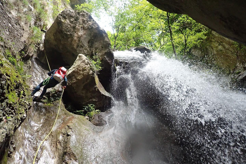 Canyoning Experience a Campione del Garda