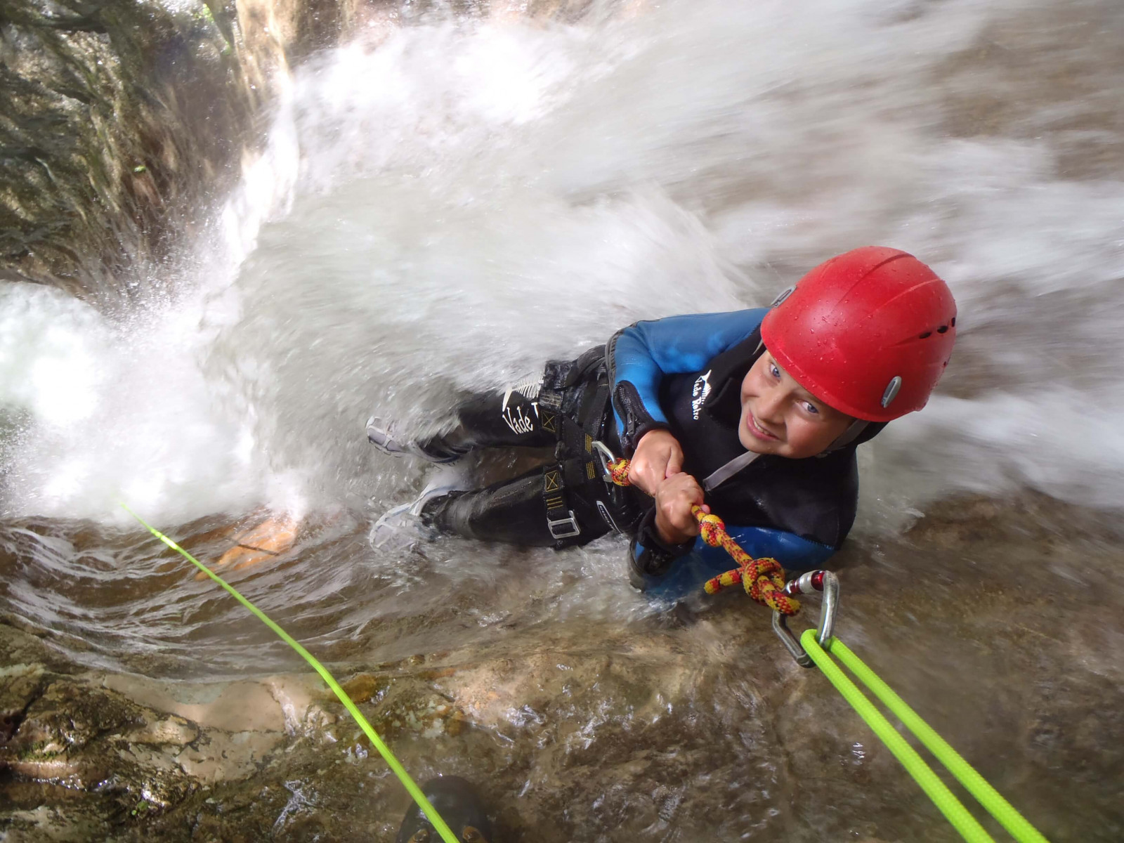 Canyoning facile in Lombardia