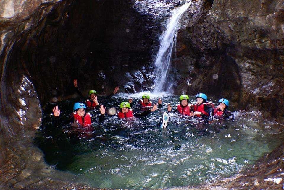 Canyoning Family sul Lago di Garda Valle di Ledro