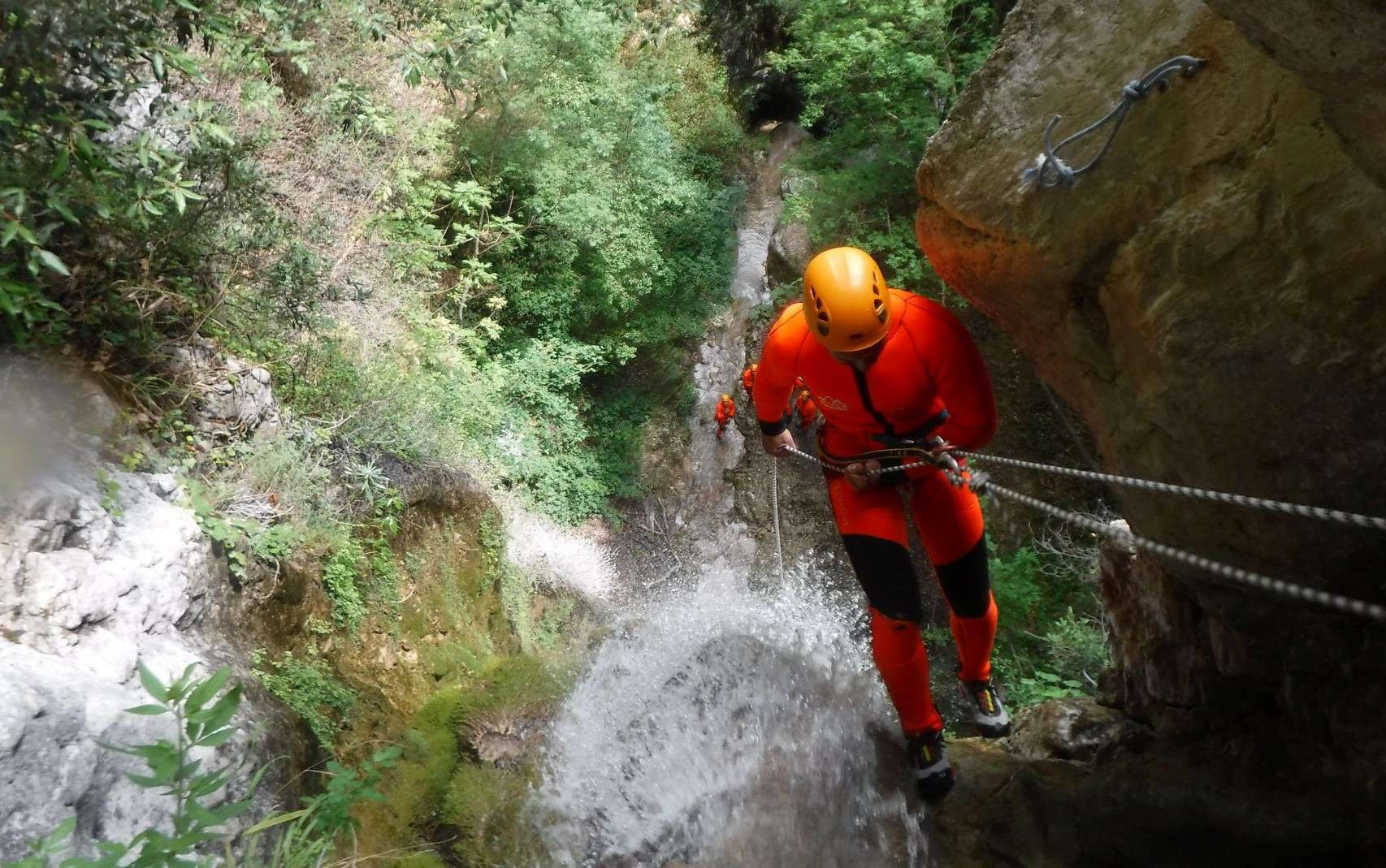 Canyoning Forra del Casco in provincia di Perugia