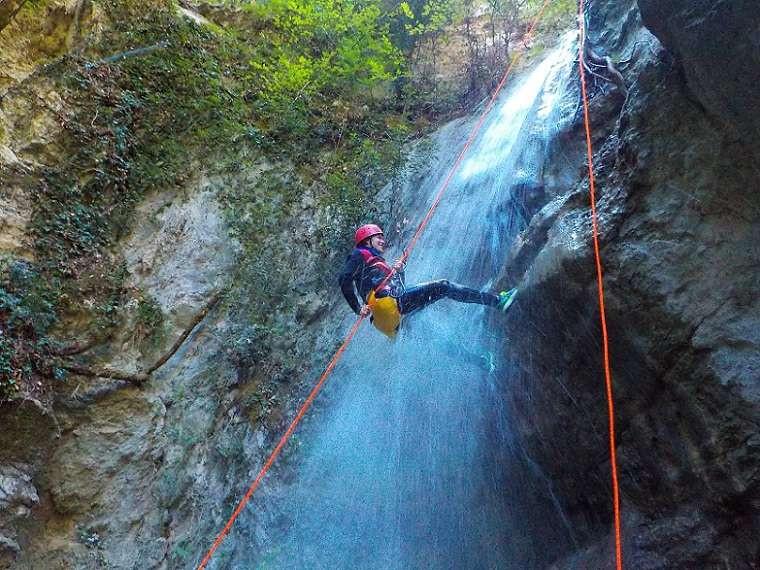 Canyoning Forra del Casco in Valnerina (PG)