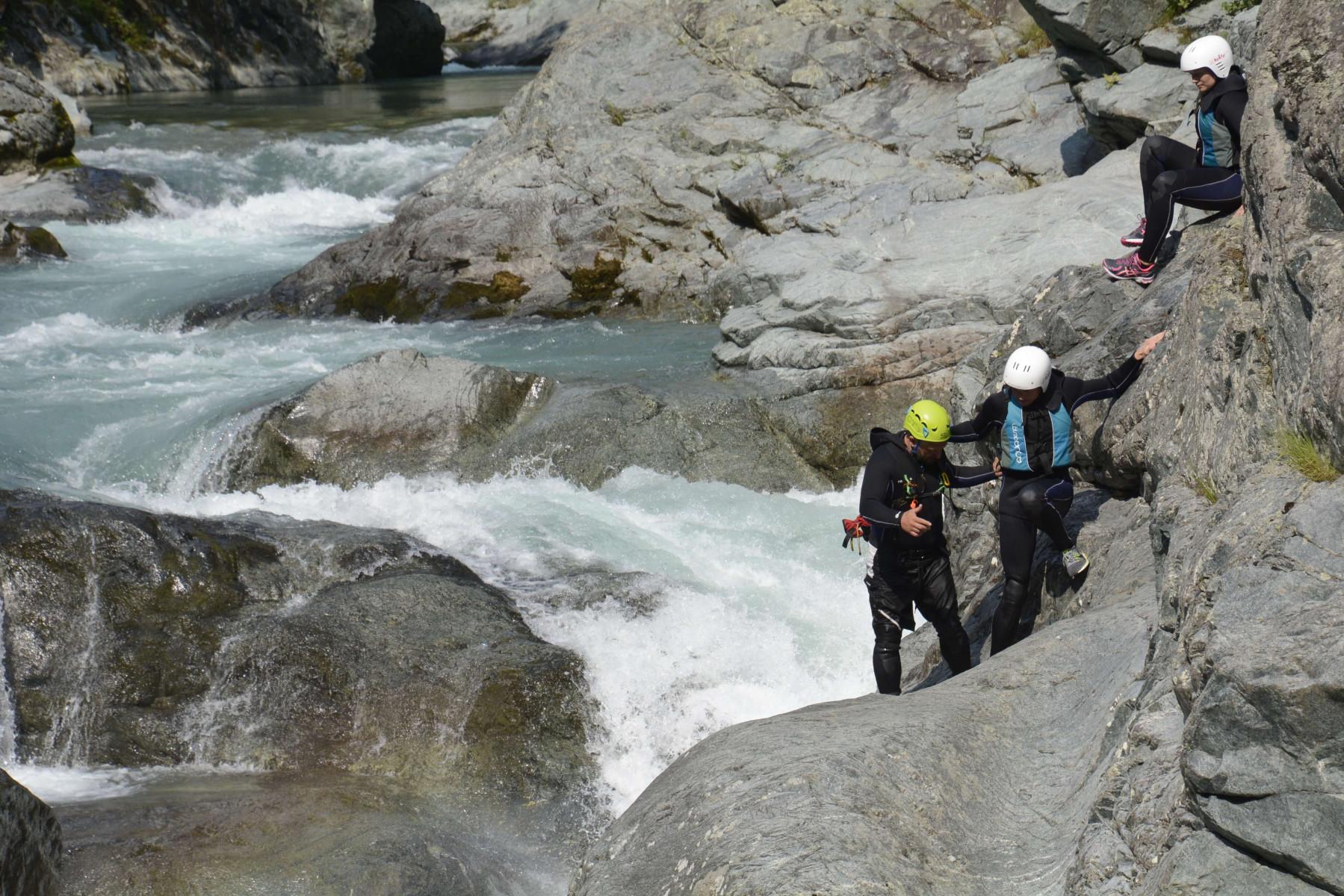 Canyoning nelle Gole del Sesia - Balmuccia (VC)
