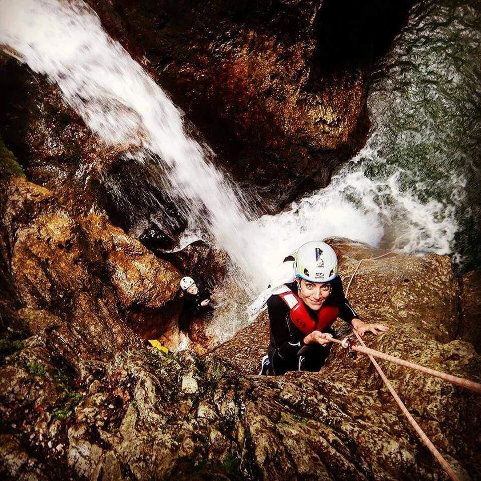 Canyoning in Trentino sul Palvico Valle di Ledro