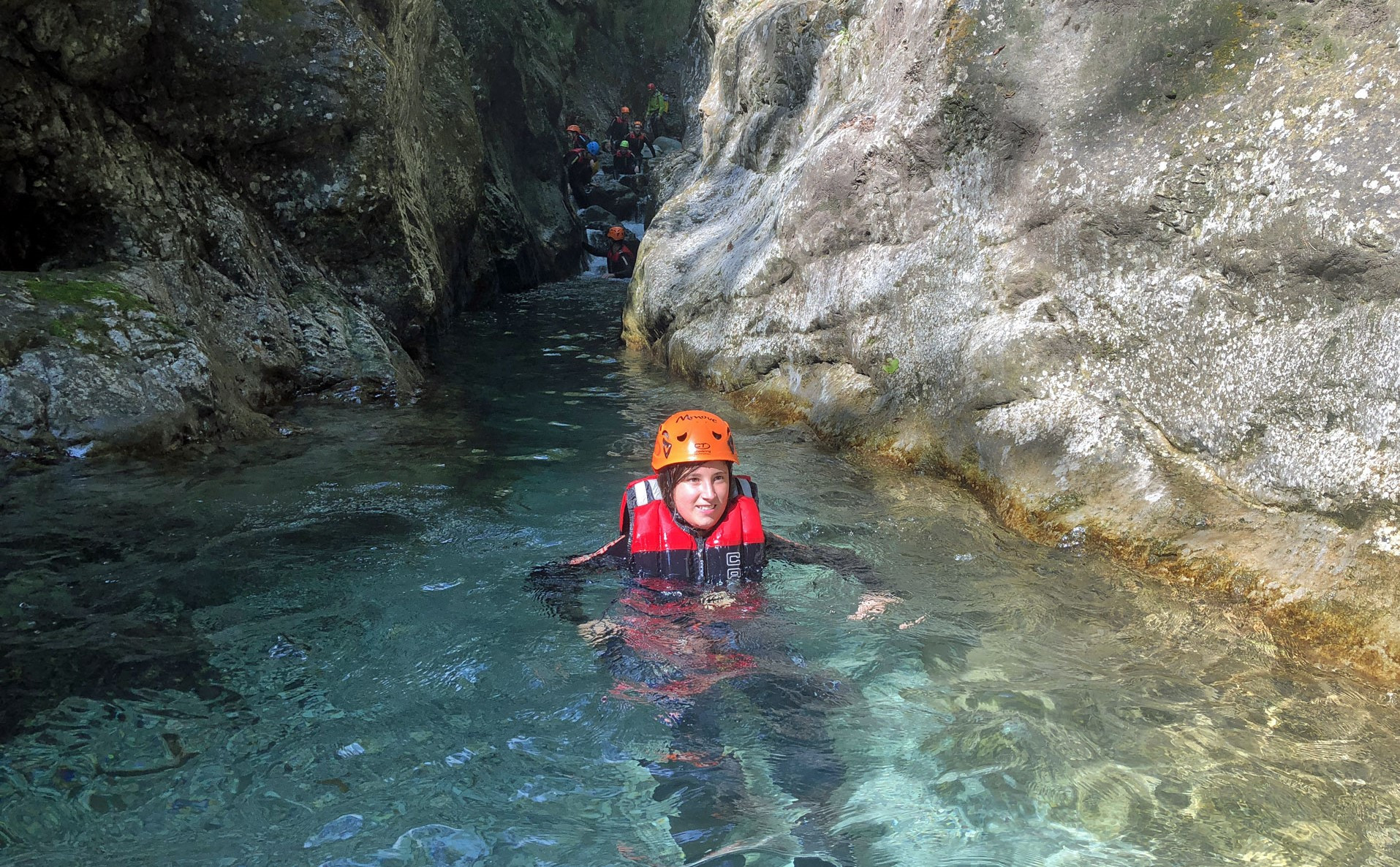 Canyoning Palvico nella Valle di Ledro in Trentino