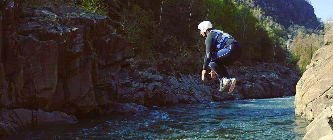 Canyoning per sportivi Sorba - Balmuccia (VC)