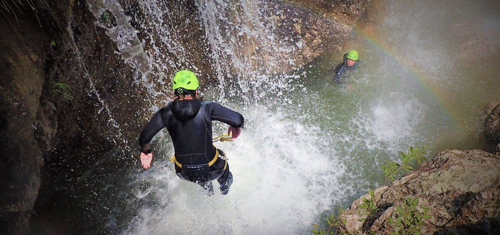 Canyoning per sportivi