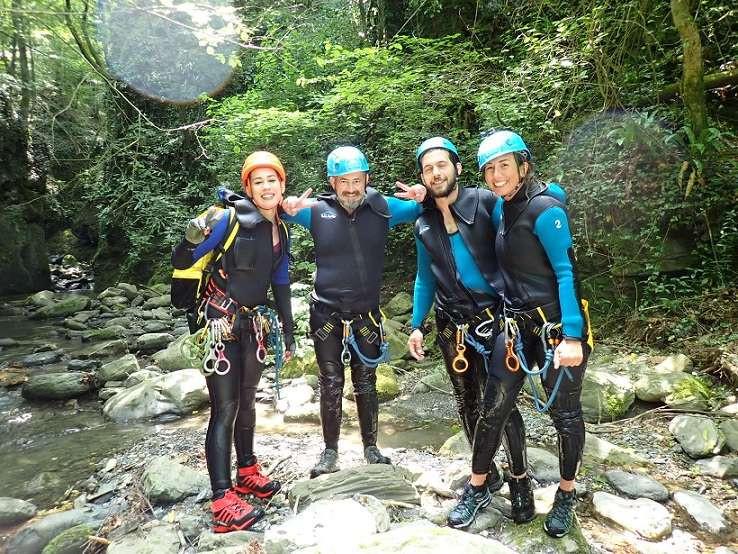Canyoning Rio Buti in provincia di Prato