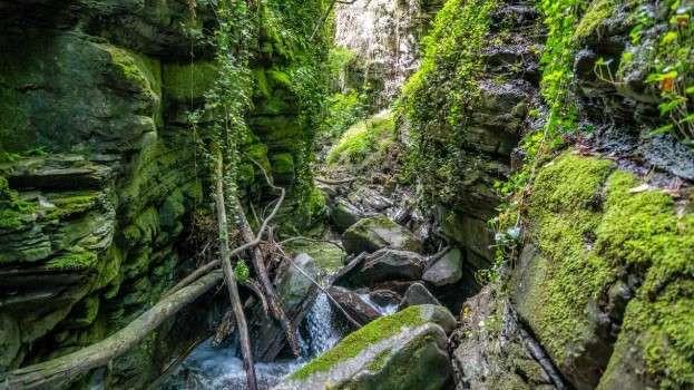 Canyoning Rio Monio in provincia di Modena