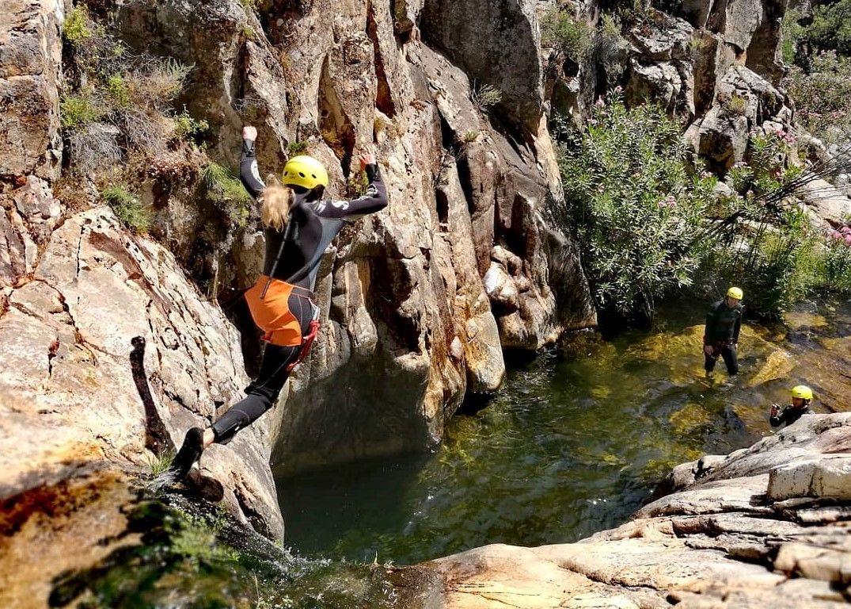 Canyoning Rio Zairi sul Monte Linas