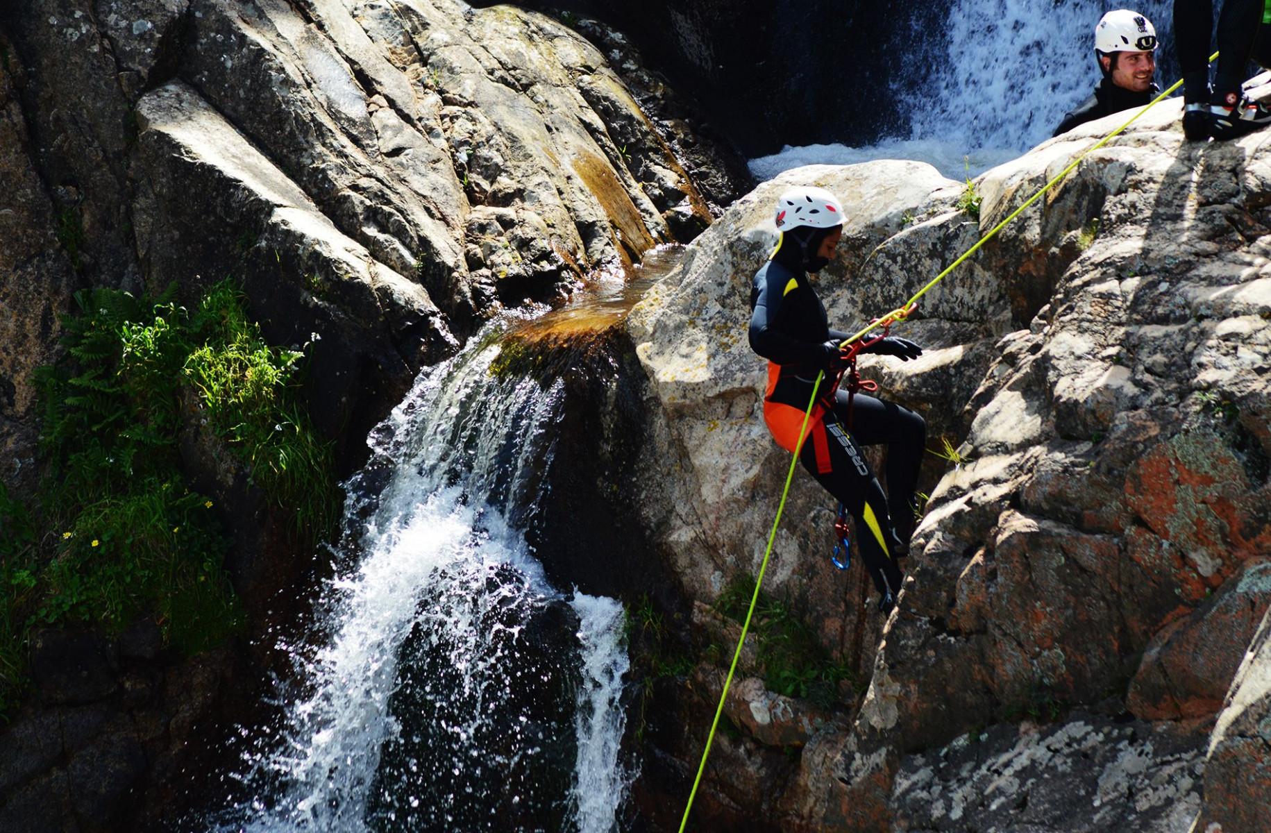 Canyoning Sa Spendula nel torrente Coxinas
