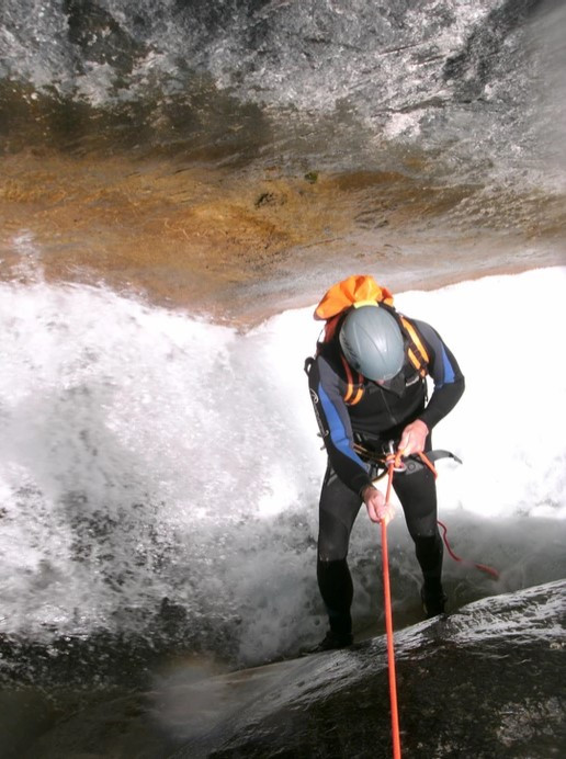 Canyoning Sporting Spirit sul torrente Chalamy in Valle d'Aosta