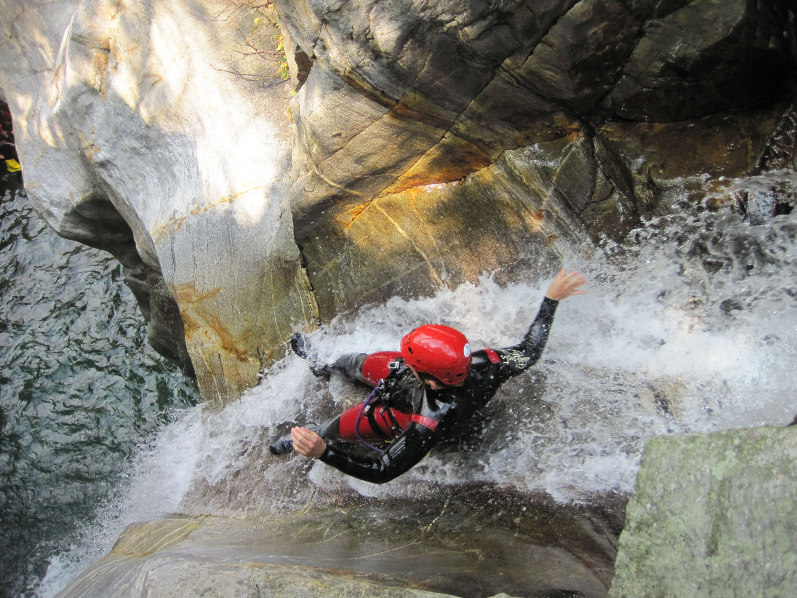 Canyoning Val Bianca in Piemonte