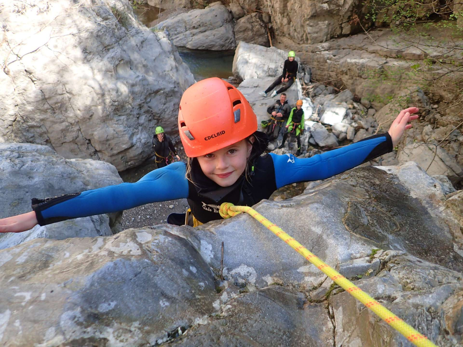 Canyoning in famiglia