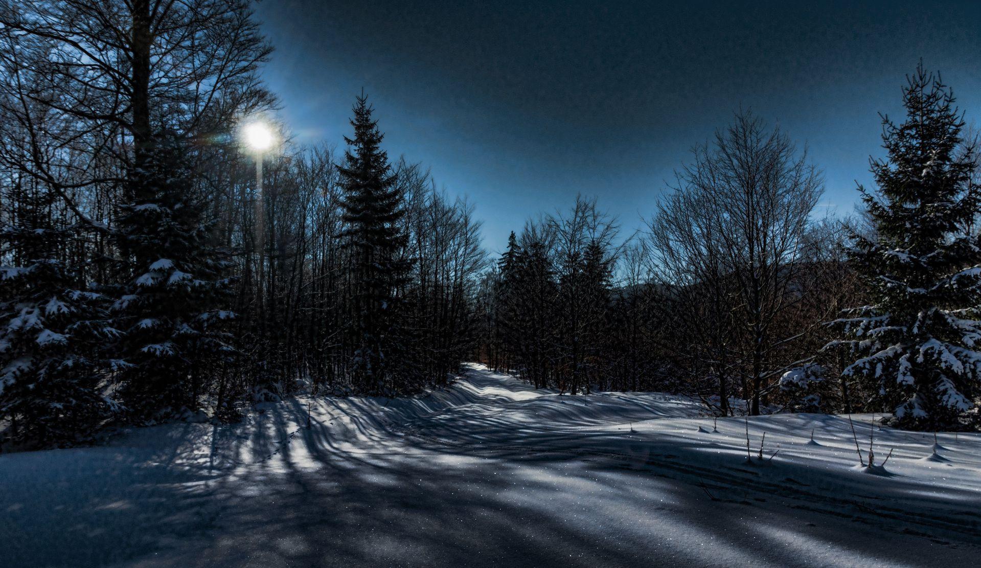 Ciaspolata al chiaro di luna sul Monte Baldo