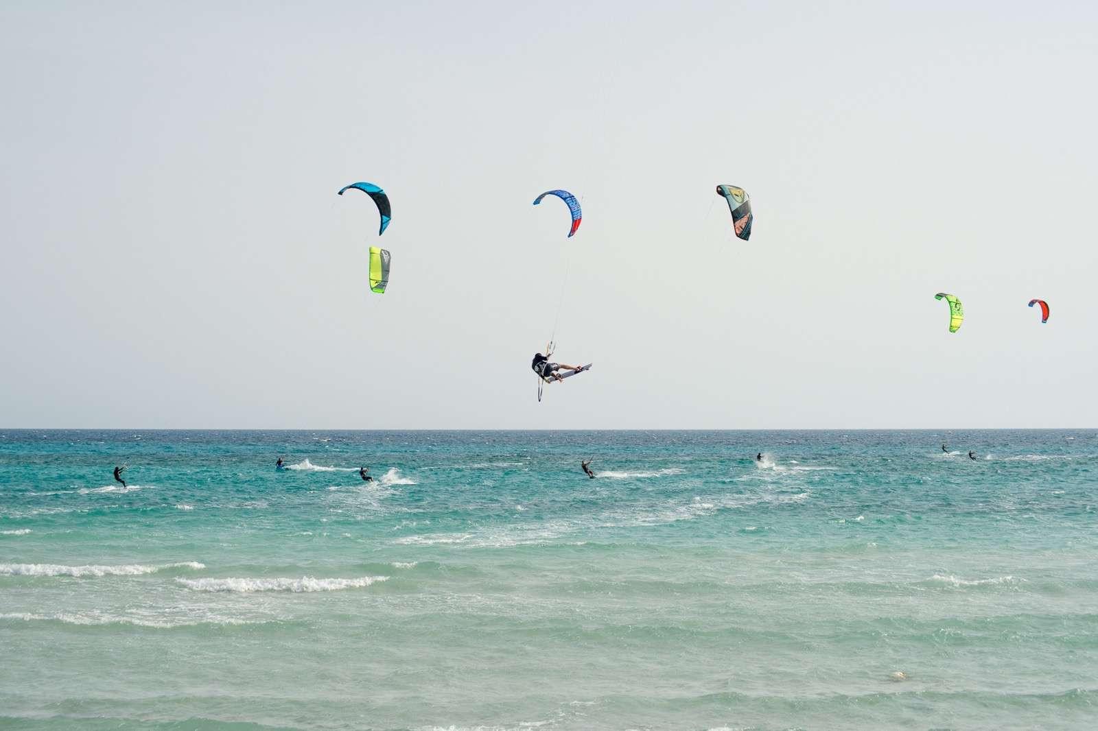 Corso avanzato di kitesurf di 4 giorni in Salento