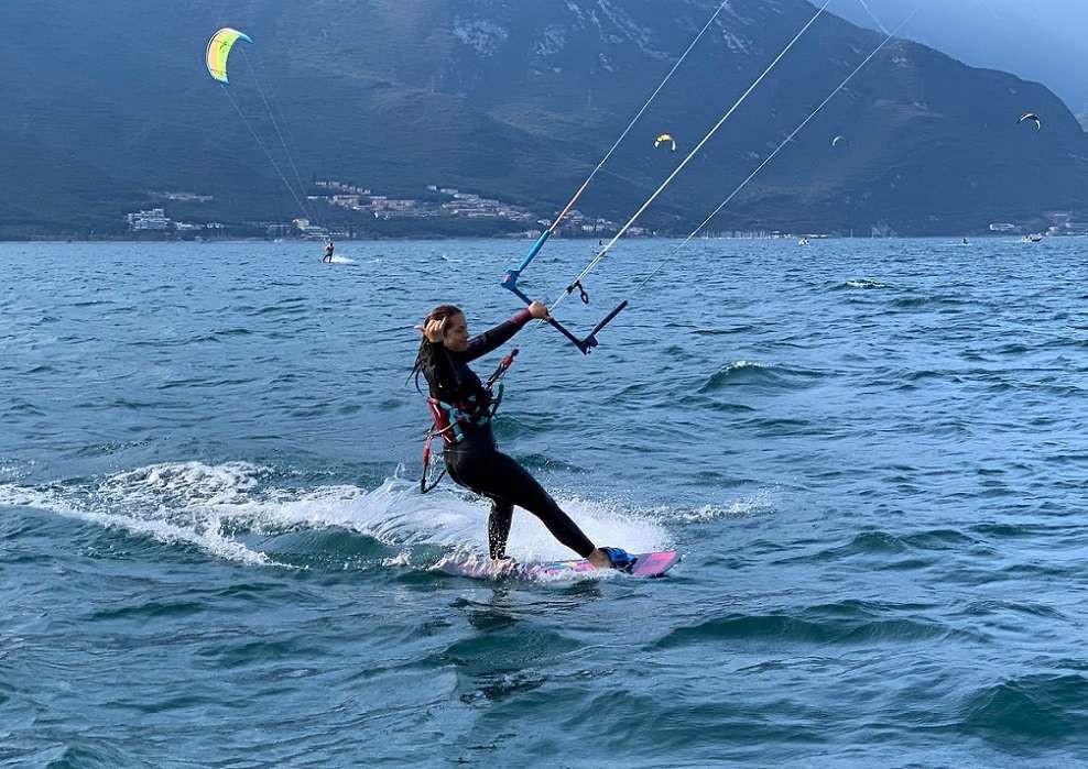 Corso base di kitesurf di 3 giorni sul Lago di Garda