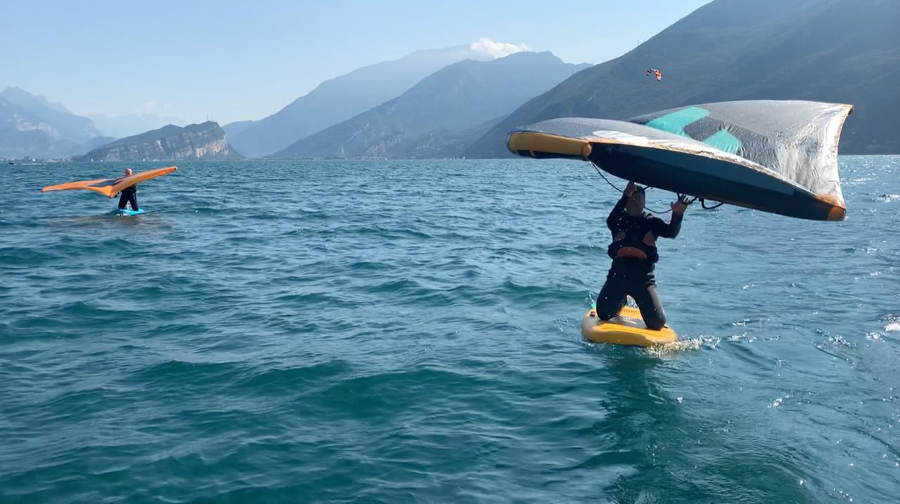 Corso base di Wing Foil sul Lago di Garda