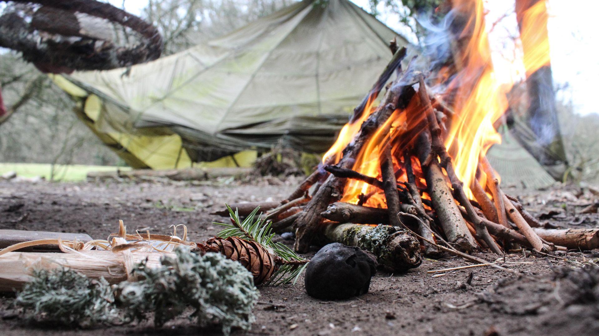 Corso di bushcraft e survival sui monti del Molise