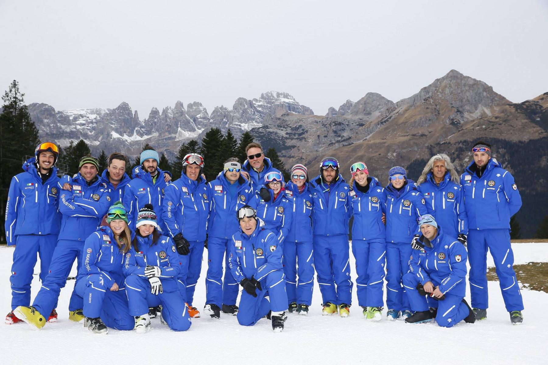 Corso collettivo di sci per adulti intermedi e avanzati ad Andalo