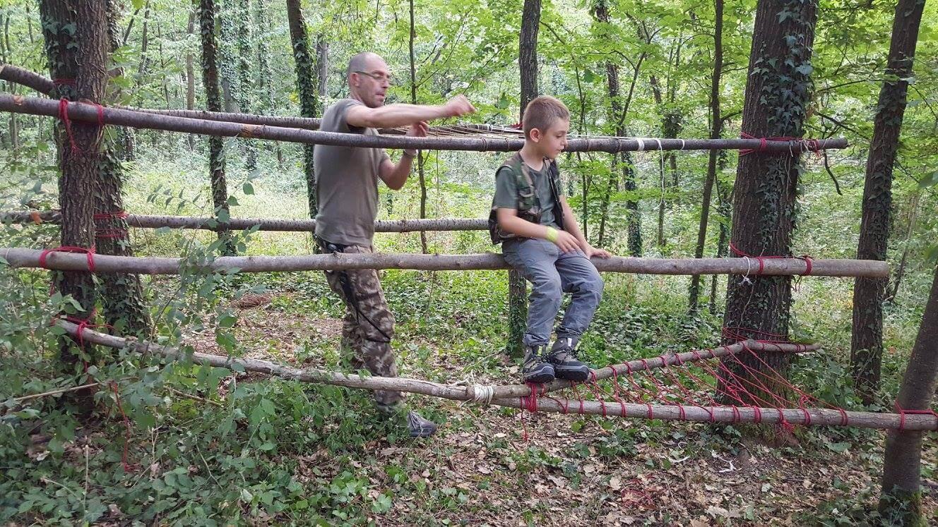 Corso di sopravvivenza genitori e figli in Piemonte
