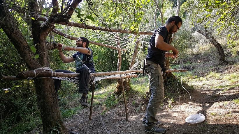 Corso di survival preistorico nei boschi della Lucchesia