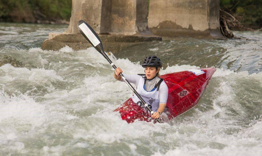 Corso di kayak di 5 lezioni sull'Adige