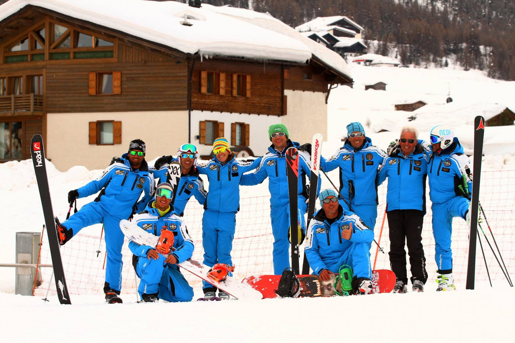 Corso di sci di gruppo per adulti e ragazzi a Livigno
