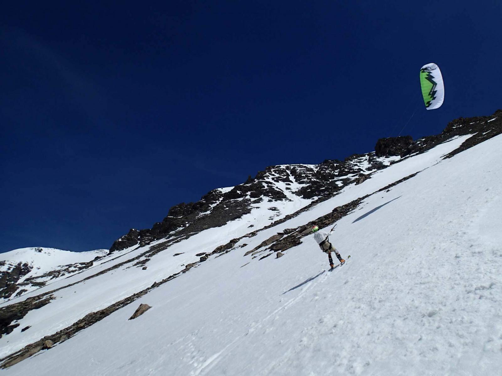 Corso base di Snowkite in Provincia di Torino