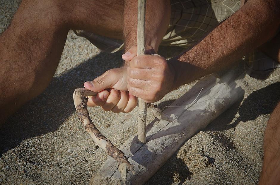 Corso di sopravvivenza di 3 giorni nella Valle di Cavedine (TN)