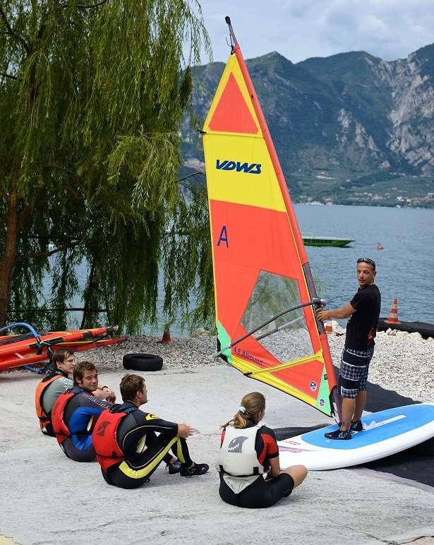 Corso Windsurf di due ore per principianti