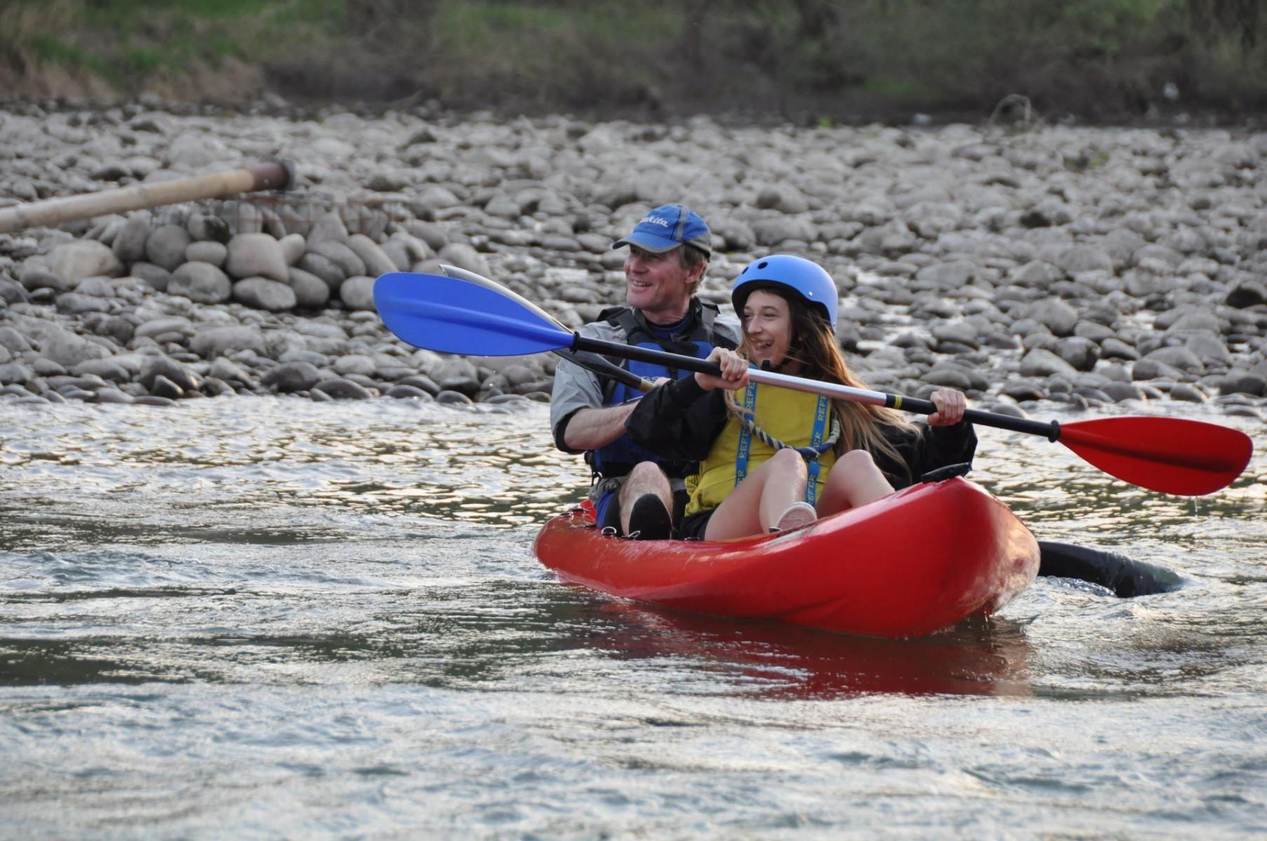 Discesa in canoa sull'Adige nella Terra dei Forti