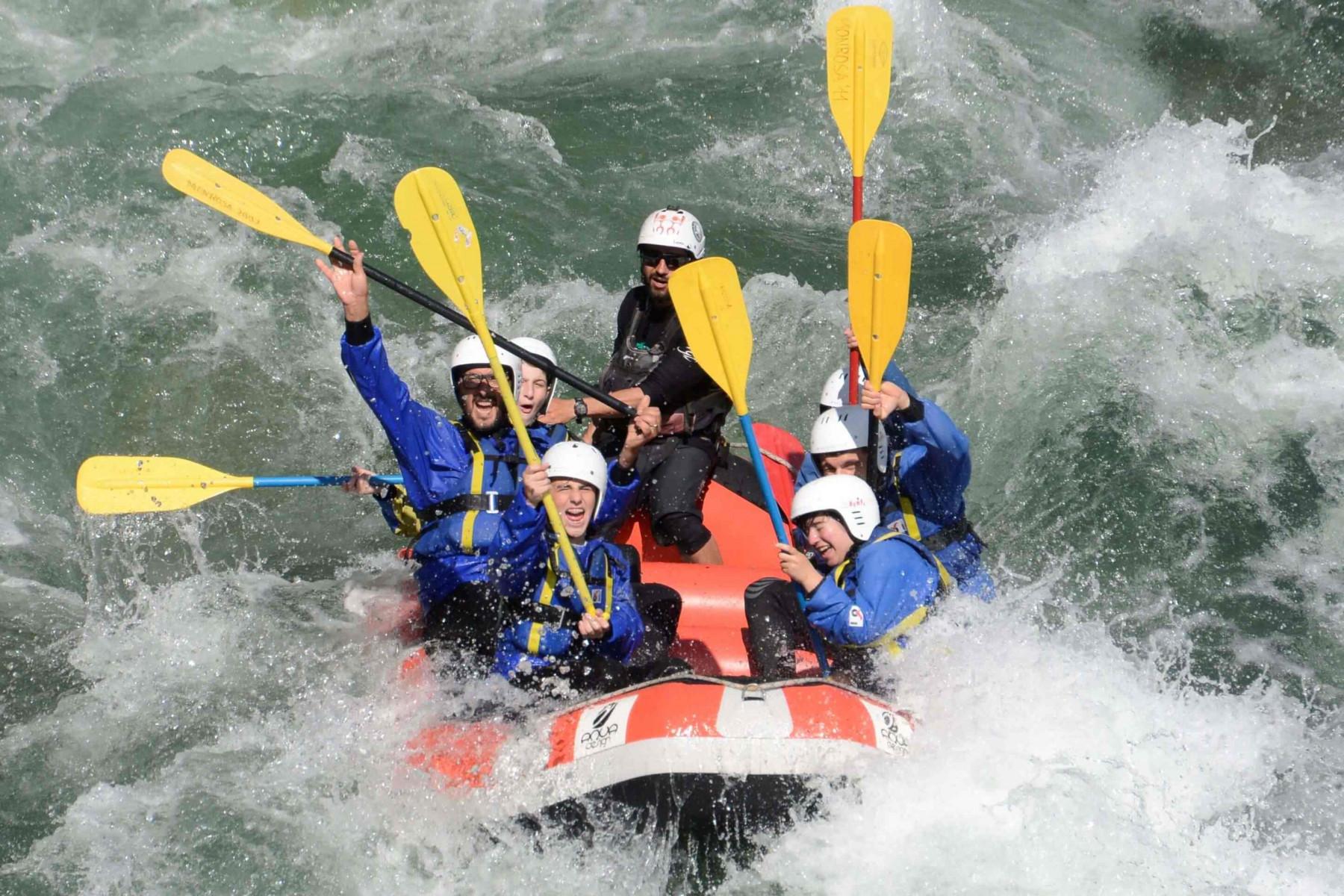 Discesa in Rafting Classico sul Sesia