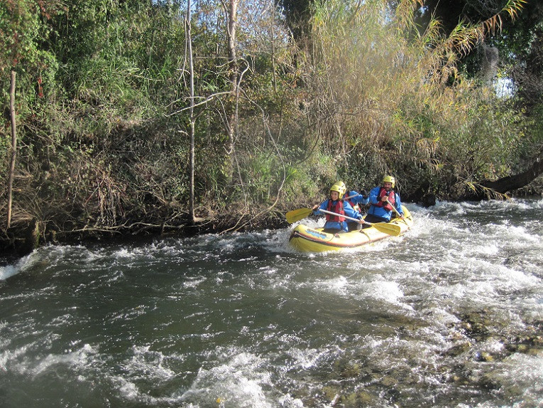 Discesa in mini-raft nei fiumi Sele e Tanagro