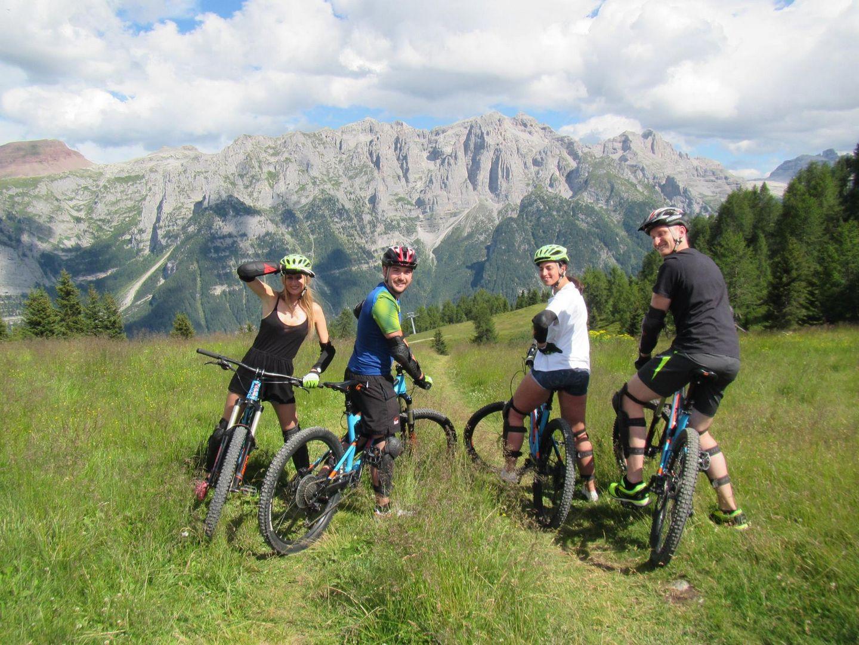 Downhill Freeride sulle Dolomiti del Trentino