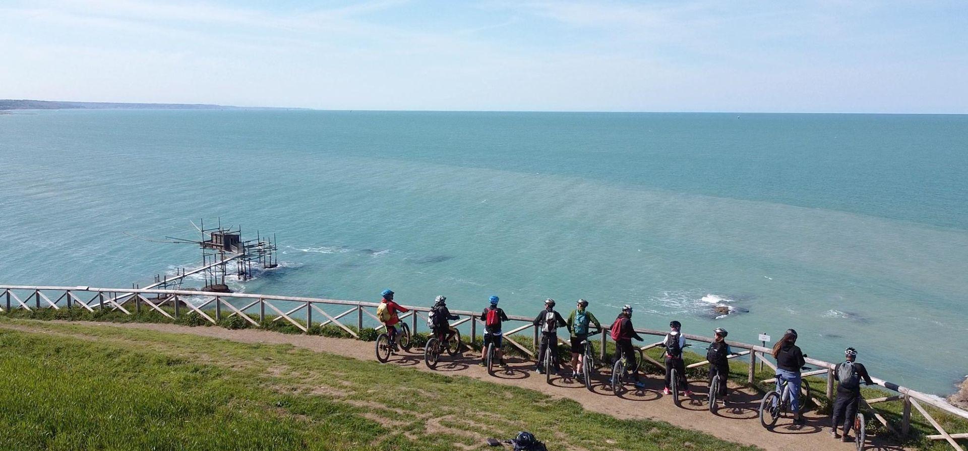 E-bike tour sulla Costa dei Trabocchi