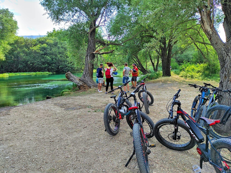 E-bike tour nella Valle del Tirino
