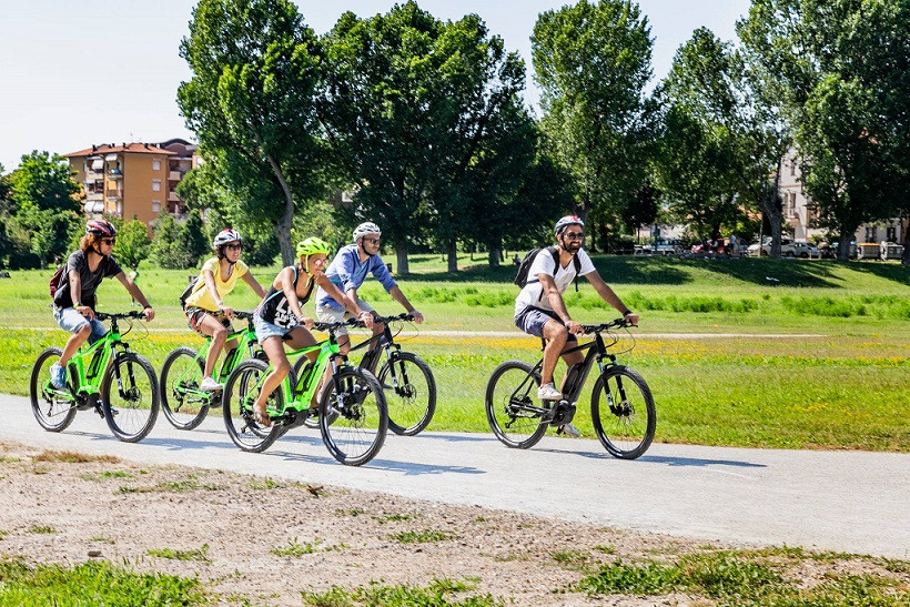 E-bike tour al parco naturale Monte San Bartolo