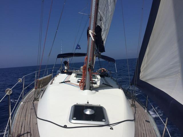 Escursione in barca a vela sul litorale romano